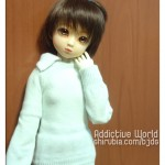 Elfdoll Yumi con su uniforme